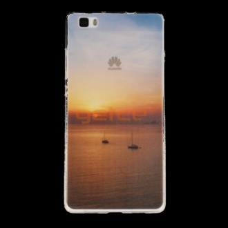 Getce Clear Photo Art Case Samsung Galaxy S7 Lake