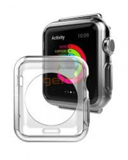 Getce Silicon case for Apple Watch 42mm Clear