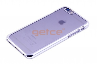 Getce Premium Clear Cover Case iPhone 6 6S Silver