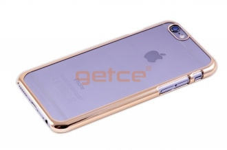 Getce Premium Clear Cover Case iPhone 6 6S Gold